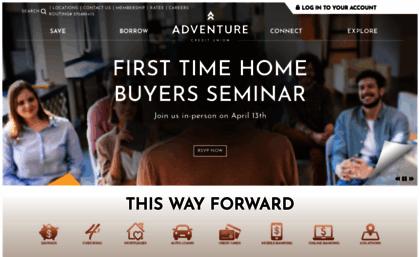 Option1cu Org Website Adventure Credit Union Grand Rapids And