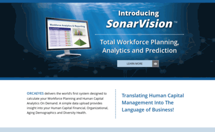 Orcaeyes com website  OrcaEyes Workforce Planning and Human