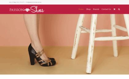 premium selection 25b62 e60dc Passionforshoes.com.au website. Passion for Shoes ...