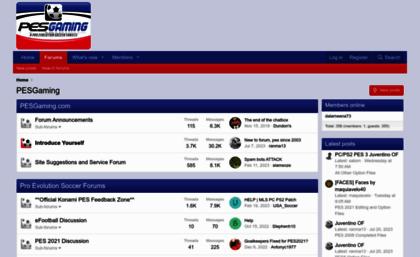 Pesgaming com website  PESGaming Forums - Powered by vBulletin