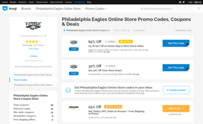 huge selection of 641f4 c4e95 Philadelphiaeaglesonlinestore.bluepromocode.com website. 35 ...