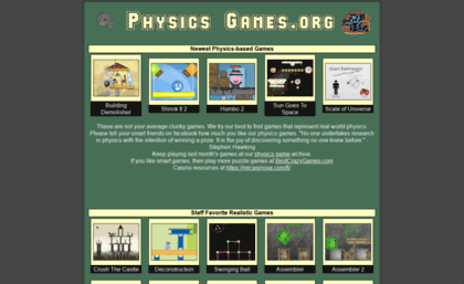 physicsgames.org