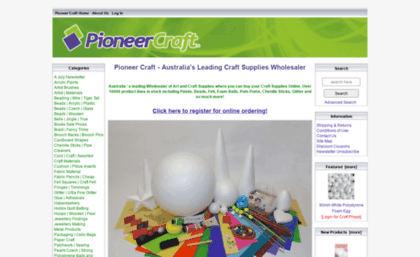 Pioneercraft Com Au Website Pioneer Craft Australia Craft