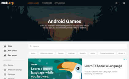 Play mob org website  Download Android Games free, New APK