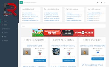 Portableroms com website  Download 3DS ROMs, NDS ROMs, SNES