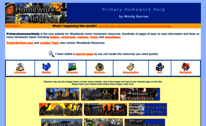 Woodlands junior homework help rivers