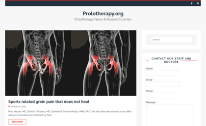 prolotherapy.org