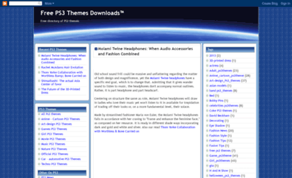 ps3freethemes blogspot com website ps3 themes downloads ps3 news