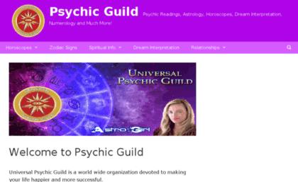 Universal psychic guild horoscopes