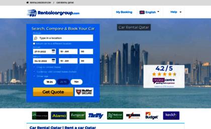 Qatar Rentalcargroup Com Website