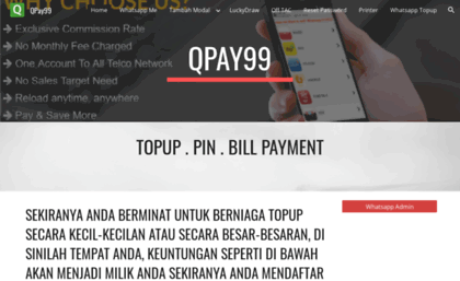 Qpay99 com website  QPay99 - Your Mobile Recharge Solution!