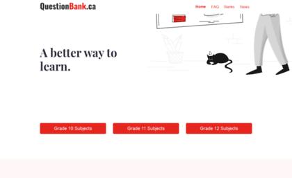 Questionbank ca website  Past BC Provincial Exams Practice Questions