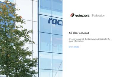 Rackermail-ord.rackspace.com website. Sign In.