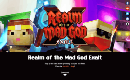 Realmofthemadgod appspot com website  Realm of the Mad God