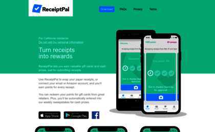 Receiptpalapp Com Website Welcome To Receiptpal