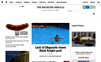 Register-herald com website  Register-herald com | In Print  Online
