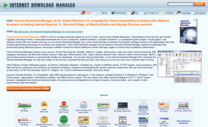 Registeridm com website  Internet Download Manager: the fastest