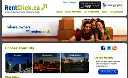 Rentclick ca website  Rent Calgary Apartments, Edmonton