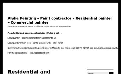 Residentialpaintingcontractorcom Website Local Residential - Local painting contractors