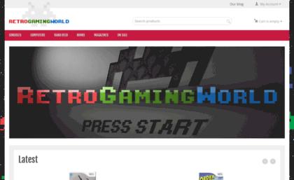 Retrogamingworld co uk website  Retro Gaming World