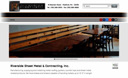Riversidesheetmetal Net Website Riverside Sheet Metal Contracting