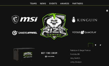 Rize-gaming co uk website  Rize Gaming Pro Esports
