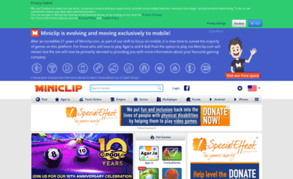 sapo.miniclip.com