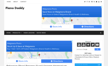Sargam pianodaddy com website  SarGaM