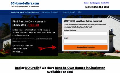Schomesellerscom Website Rent To Own Homes In Charleston Dana