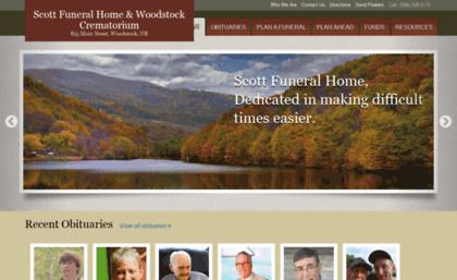 Scott S Funeral Home Woodstock New Brunswick