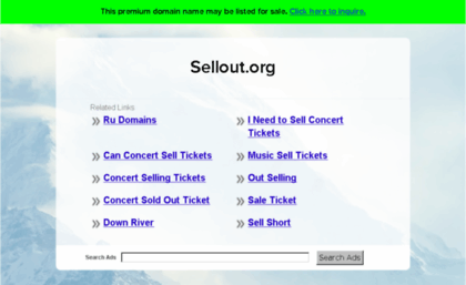 Sellout org website  Buy Domain Names- Find a Premium Domain
