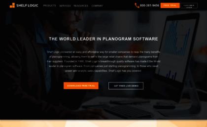 Shelflogic com website  Shelf Logic - Planogram Software