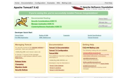 apache tomcat 7.0.42