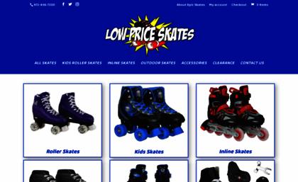 Low Price Skates Lowest Prices Guaranteed Lowpriceskates Com >> Skatemall Com Website Low Price Skates Lowest Prices Guaranteed