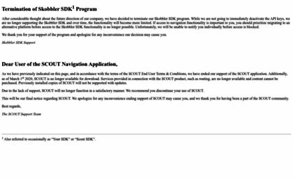 Skobbler com website  Skobbler | Home | Smart mobile