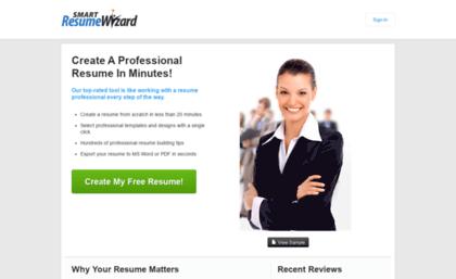 smartresumewizardcom - Smart Resume Wizard