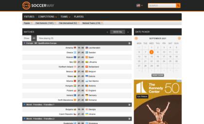 Soccerway mobi website  Soccer - Soccerway mobi - Results, fixtures