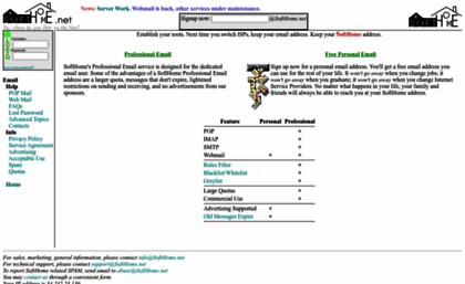 softhome net website softhome rh websites milonic com  softhome mail