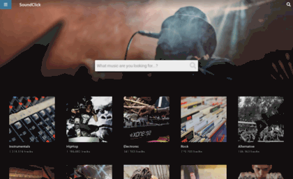 Soundclick com website  SoundClick - Music  Artists  Social