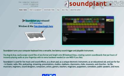 Soundplant org website  Soundplant: computer keyboard sample