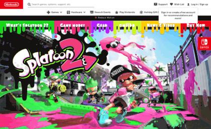 splatoon nintendo com website splatoon 2 for nintendo switch