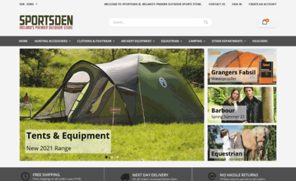 newest d8d17 53984 Sportsden.ie website. Sportsden.ie - Sportsden - Homepage 8.