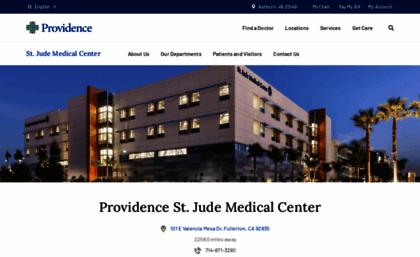 St Jude Medical Center Orange County Fullerton Ca Hospital >> Stjudemedicalcenter Org Website St Jude Medical Center Orange