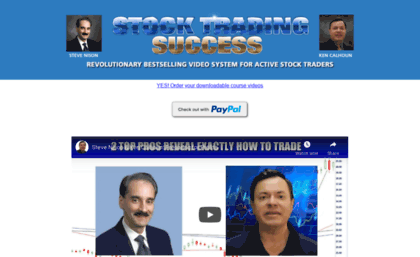 This is the first time these proprietary setups have been released to the general trading public  now yours as part of your Stock Trading Success System