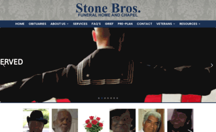 Stonebrothersfuneralhome Com Website Stone Brothers Funeral Home