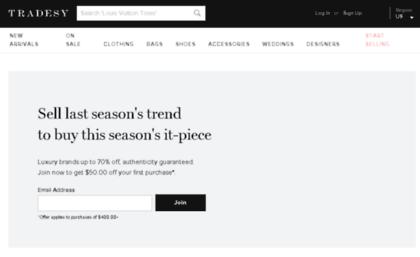 4101663023941 Style.tradesy.com website. Tradesy – Buy & Sell Designer Bags, Shoes ...