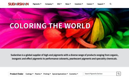 Sudarshan com website  Home | Sudarshan Chemical Industries