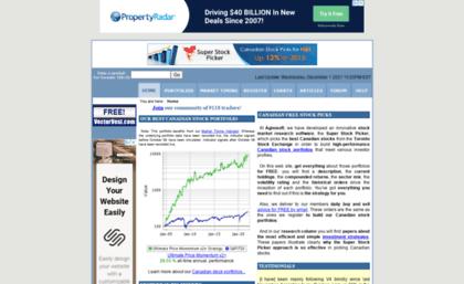 superstockpicker com website canadian free stock picks toronto