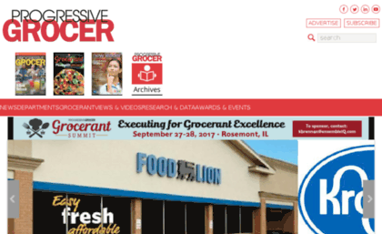 Supplierdirectory progressivegrocer com website  Progressive Grocer