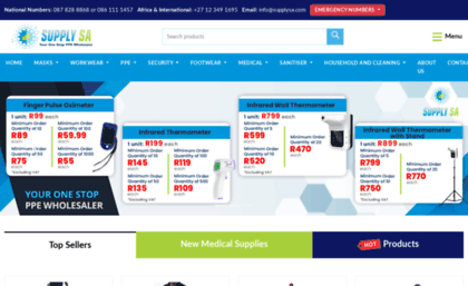 Supplysa com website  Promotional gifts & corporate gifts importer